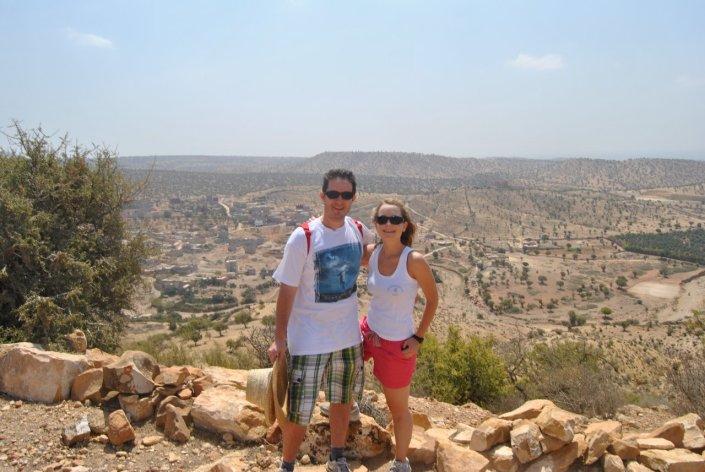 Héctor y Tatiana en el Atlas, Marruecos