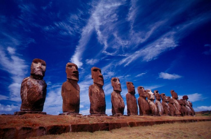 Easter Island_Moais