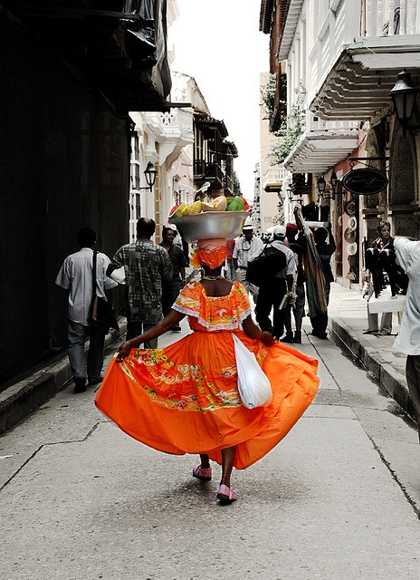Colombian People - Palenquera Cartagena